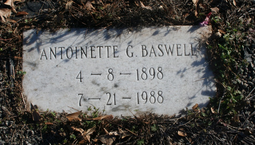 Antoinette G. Baswell