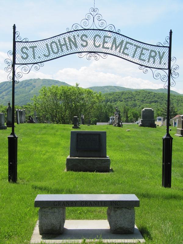 Saint John's Cemetery, Bromont