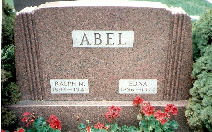 Edna <i>Pletcher</i> Abel