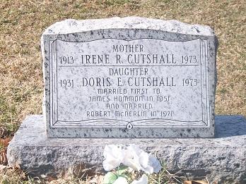 Doris E. <i>Cutshall</i> (Hommon) McNerlin