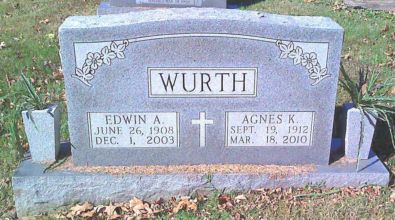 Agnes Katherine <i>Carrico</i> Wurth