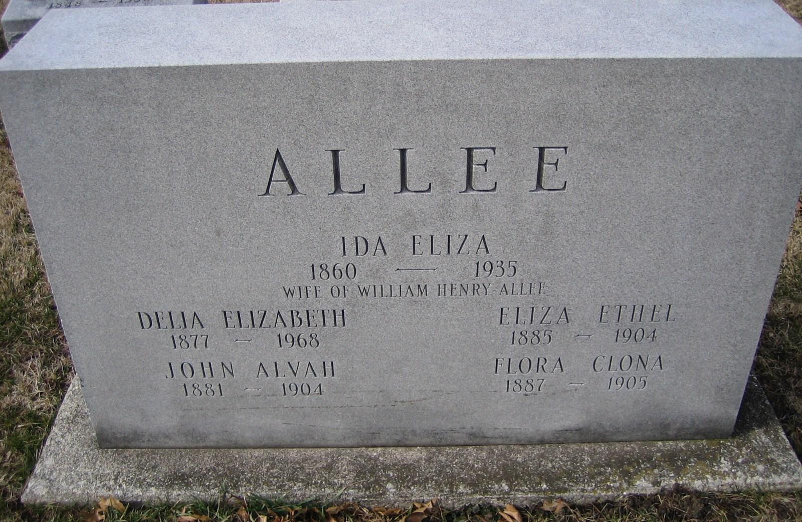 Delia Elizabeth Allee