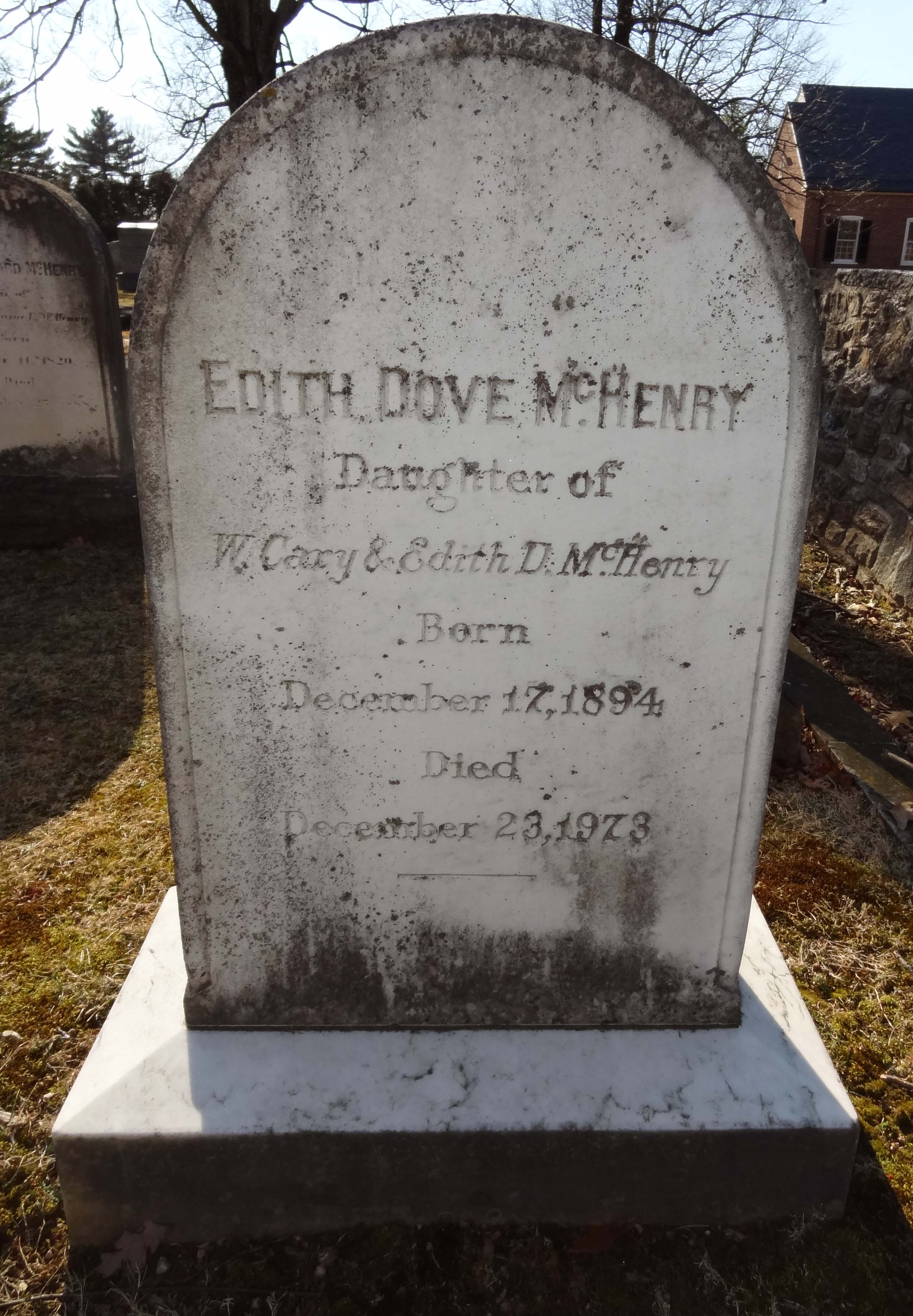 Edith Dove McHenry