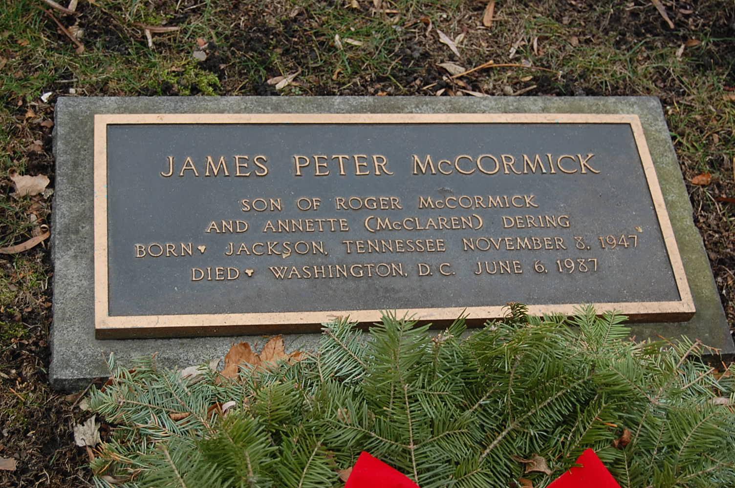 James Peter McCormick