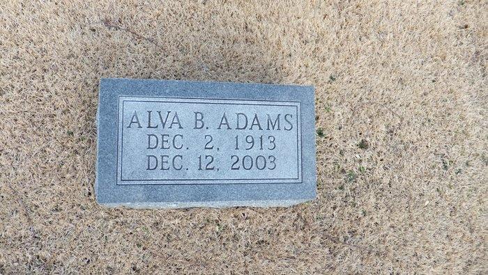 Alva <i>Bennett</i> Adams