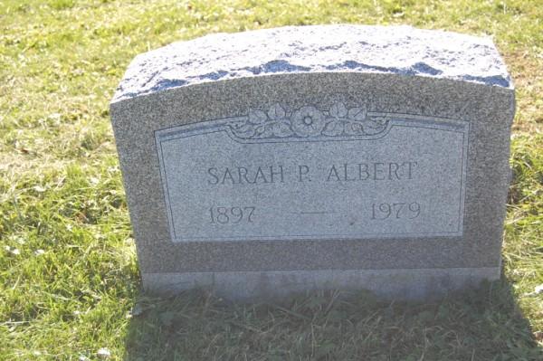 Sarah P. <i>Bernard</i> Albert