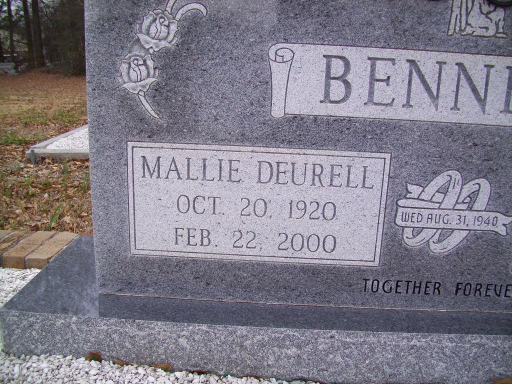 Mallie Deurell Bennett