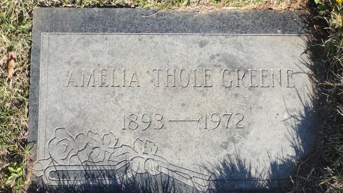 Amelia M <i>Thole</i> Greene