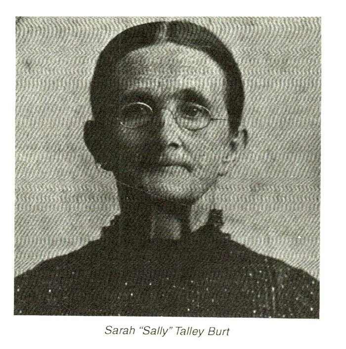 Sarah Sally <i>Talley</i> Burt