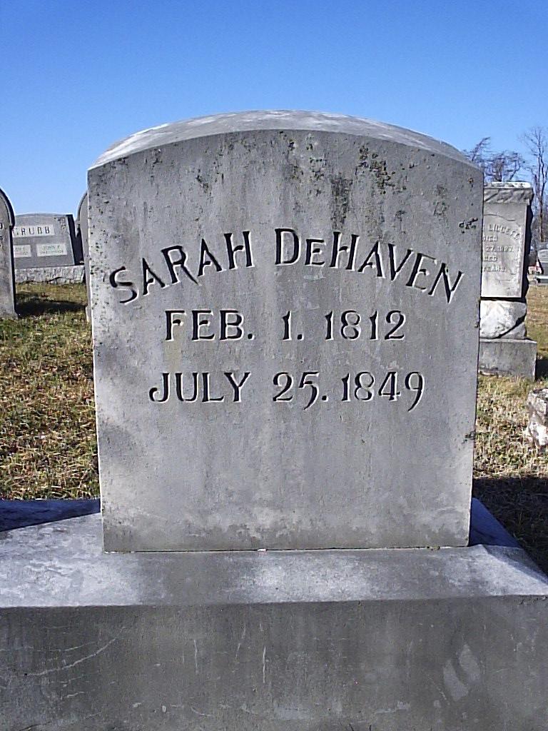 Sarah <i>Gilmore</i> DeHaven