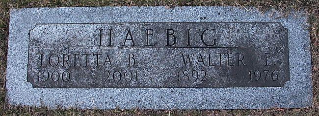 Walter E. Haebig