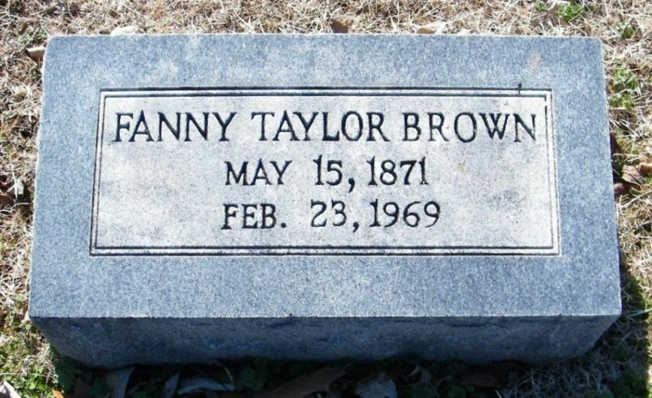 Fannie Henderson <i>Taylor</i> Brown