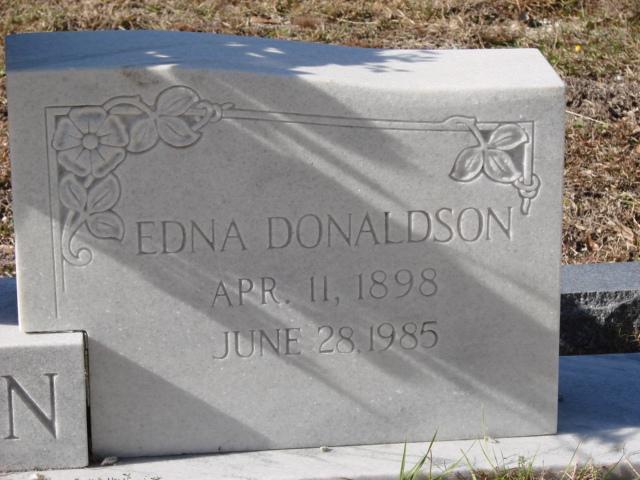 Edna <i>Donaldson</i> Allen