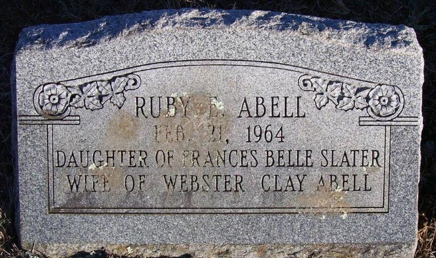 Ruby E. <i>Slater</i> Abell