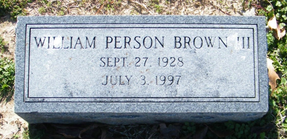 William Person Brown, III