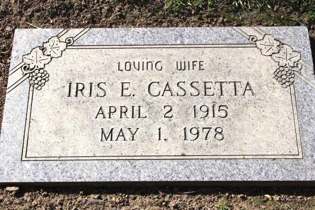 Elaine Iris <i>Fenley</i> Cassetta