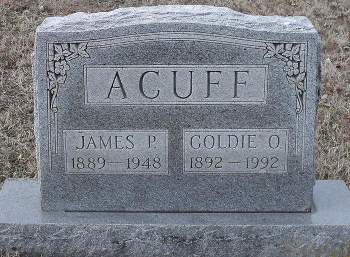 Goldie Omega <i>Dixon</i> Acuff