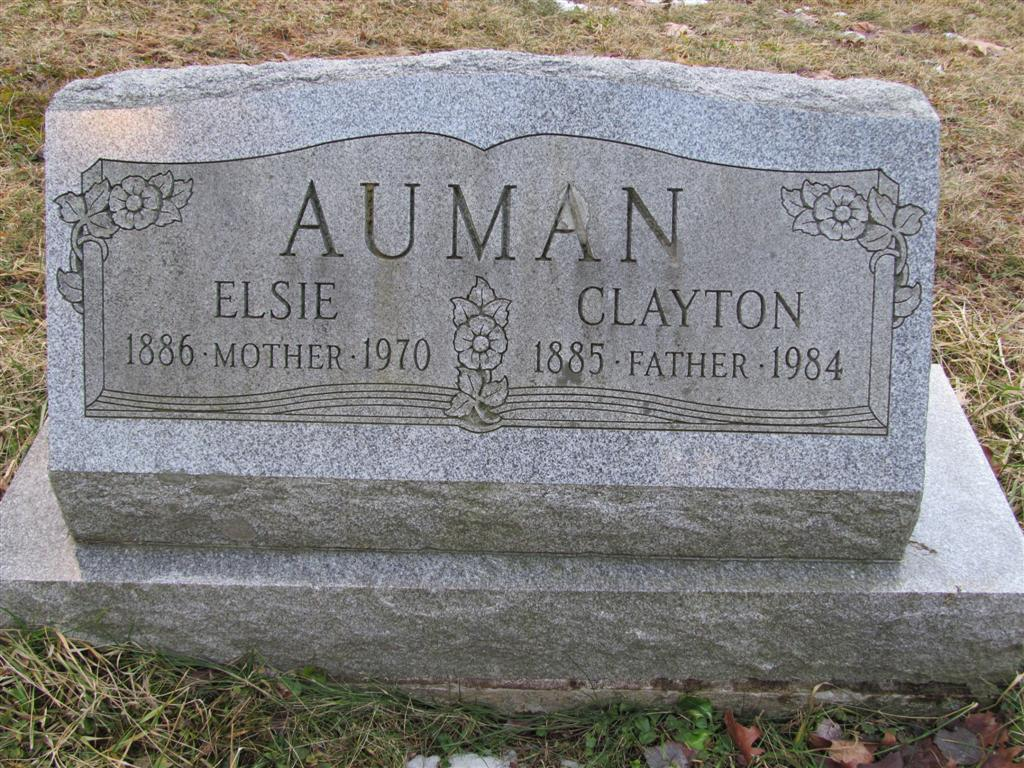 Clayton E Auman
