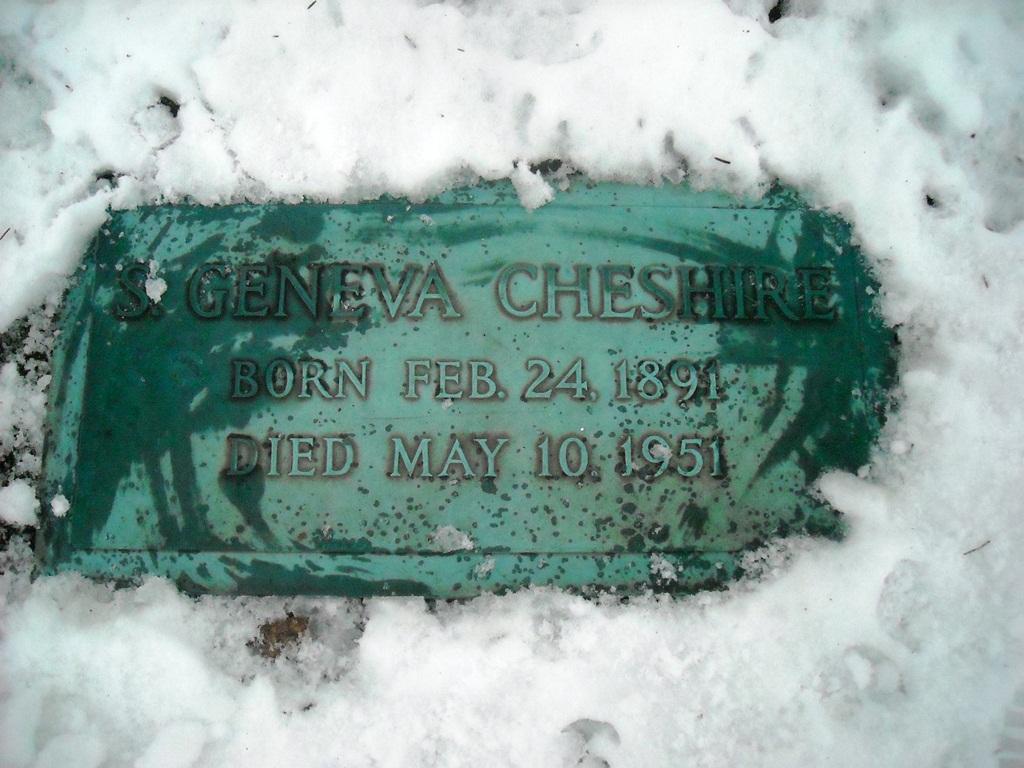 Sarah Geneva <i>Cranston</i> Cheshire