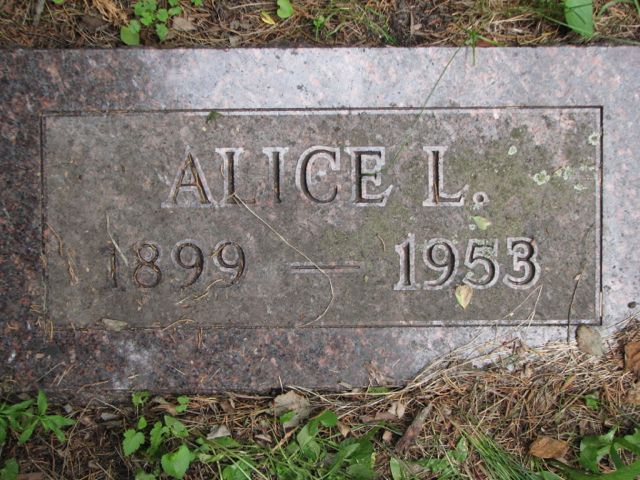 Alice L. <i>Briese</i> Bell
