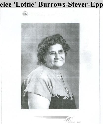 Marion Roselee Lottie <i>Burrows</i> Epping