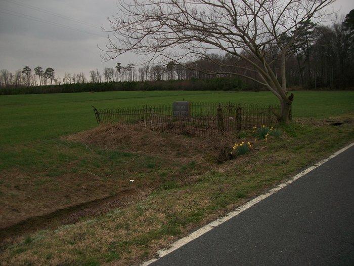 Baker, John Holliday, Family Cemetery