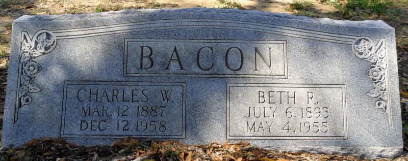 Charles W Bacon