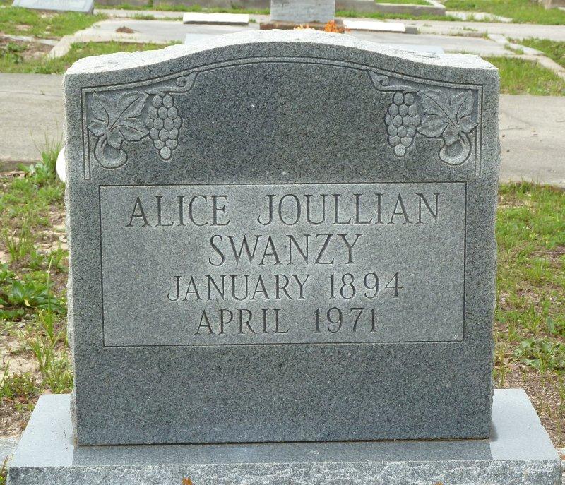 Alice <i>Joullian</i> Swanzy