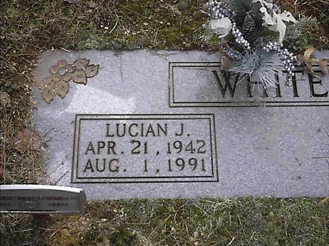 Lucian J White