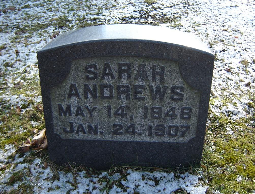 Sarah <i>Garman</i> Andrews