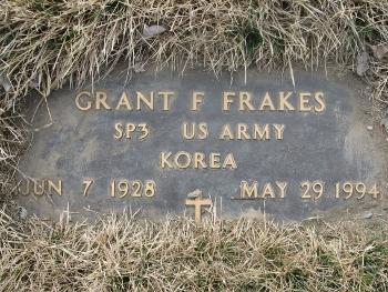 Grant F Frakes