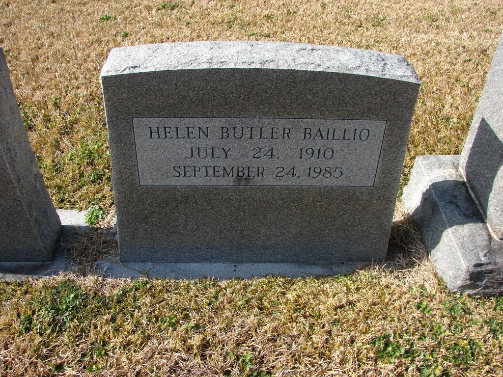 Helen <i>Butler</i> Baillio