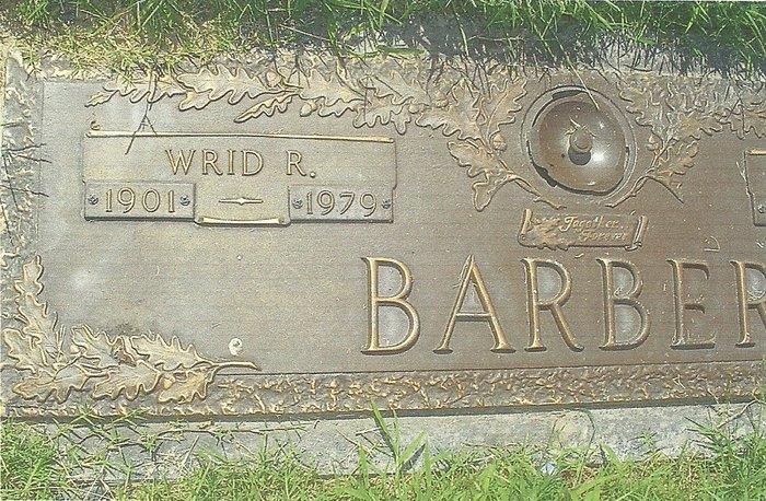 W. R. Wrid Barber