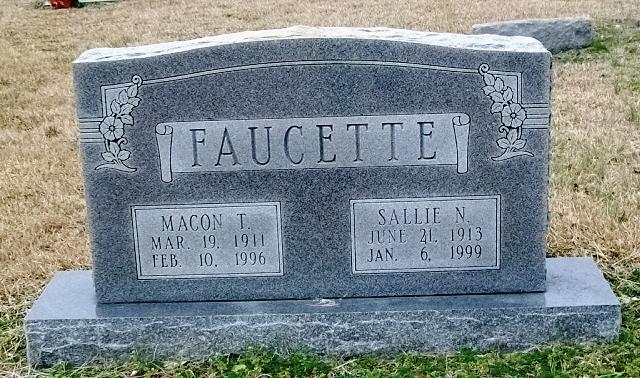Macon Thaniel Faucette