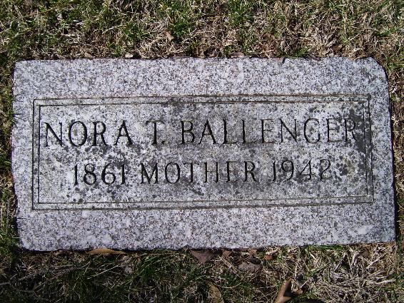 Nora T <i>Major</i> Ballenger