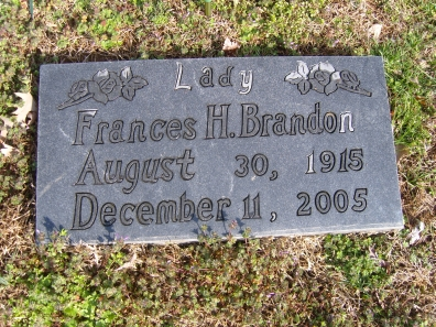 Frances Lady <i>Harris</i> Brandon