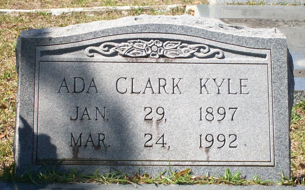 Ada <i>Clark</i> Kyle
