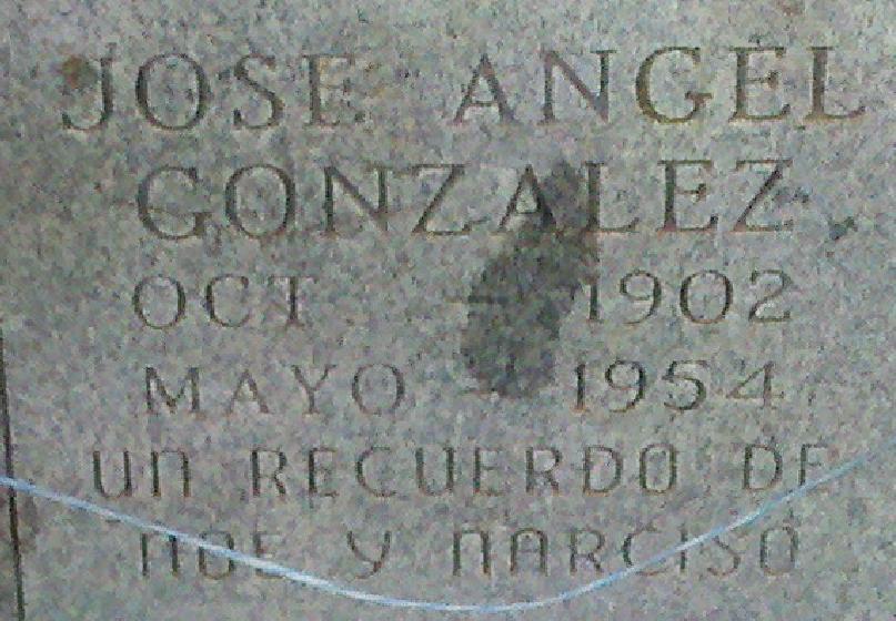 Jose Angel Gonzalez