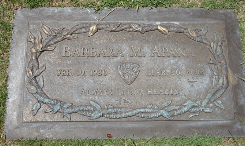 Barbara <i>Mulang</i> Apana