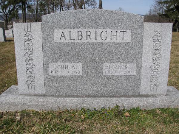 John A Albright