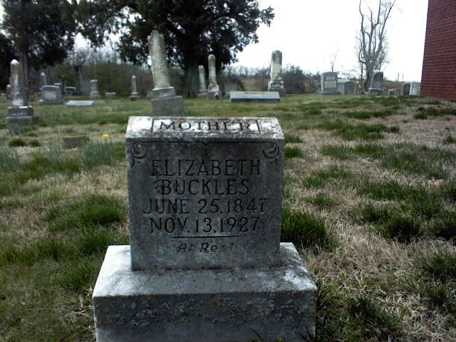 Elizabeth <i>Hart</i> Buckles