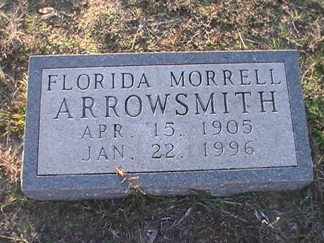 Florida <i>Morrell</i> Arrowsmith