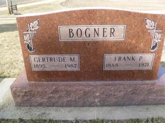 Gertrude Maude <i>Barnes</i> Bogner