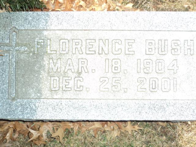 Florence Ann <i>McCabe</i> Bush