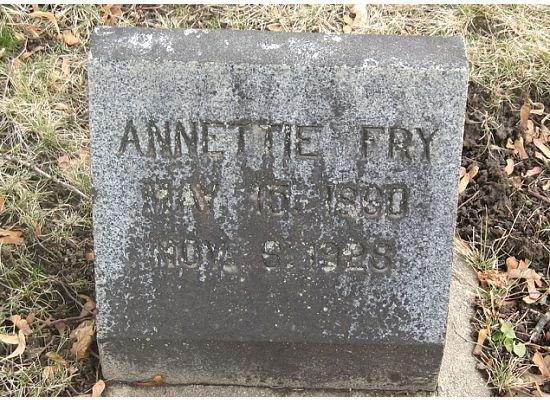 Annettie <i>McAllister</i> Fry