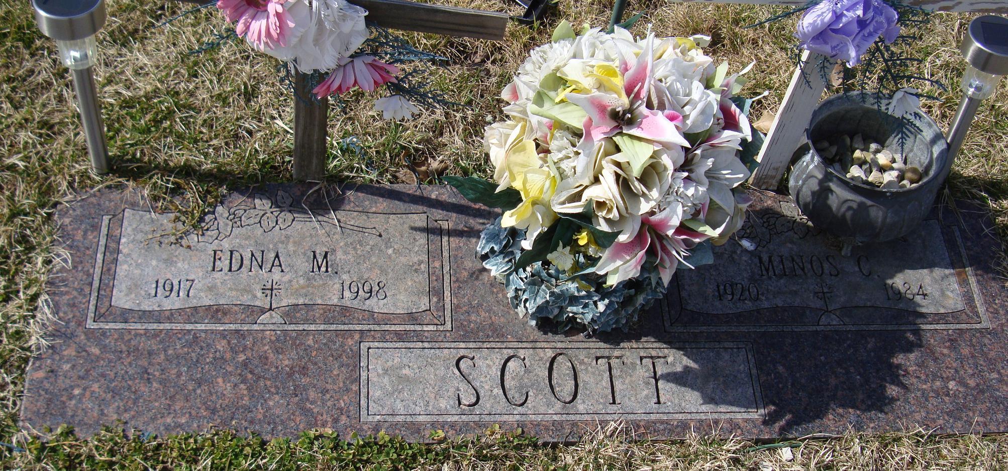 Edna M Scott