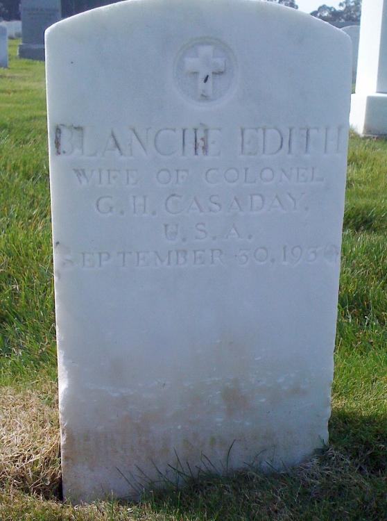 Blanche Edith <i>Getty</i> Casaday
