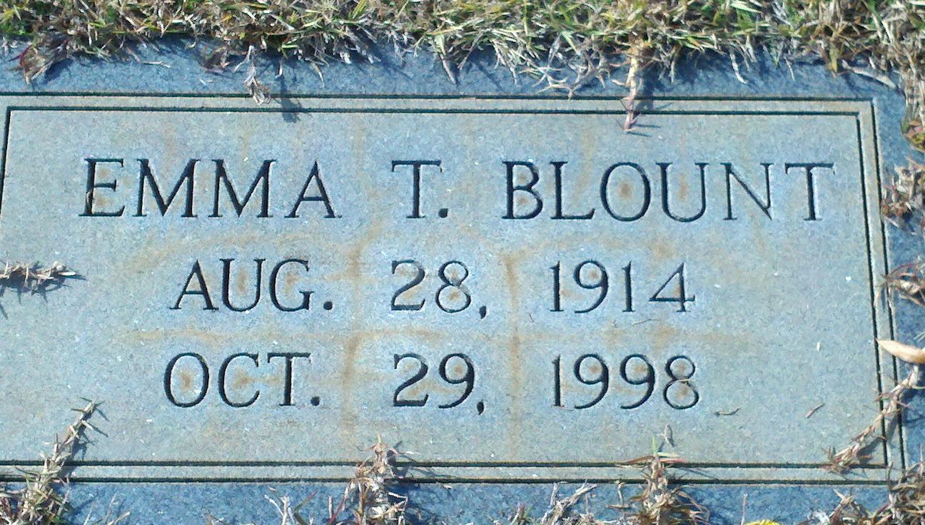 Emma Thompkins <i>Pittman</i> Blount