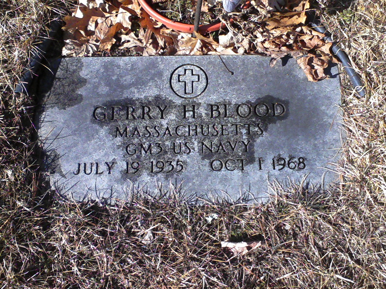 Gerry Harland Blood