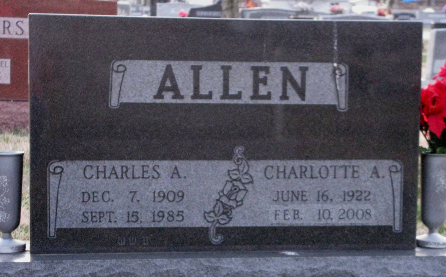 Charlotte <i>Abel</i> Allen